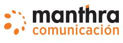 Manthra Comunicación Logo